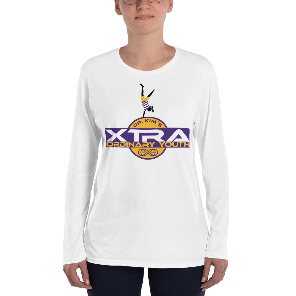 Women's Long Sleeve Tee – I Support XtraOrdinary Youth